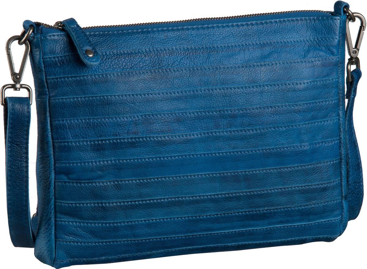 Fredsbruder Handtasche Gürteltier Crossbody Blue (innen: Flieder) - Abendtaschen, Handtaschen 18-607-46