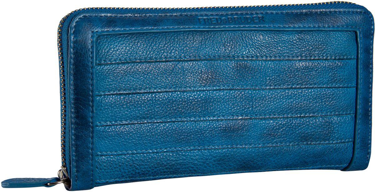 Fredsbruder Geldbörse Gürteltier Börse Big Blue (innen: Flieder) - Kellnerbörse, Geldbörsen 18-562-46