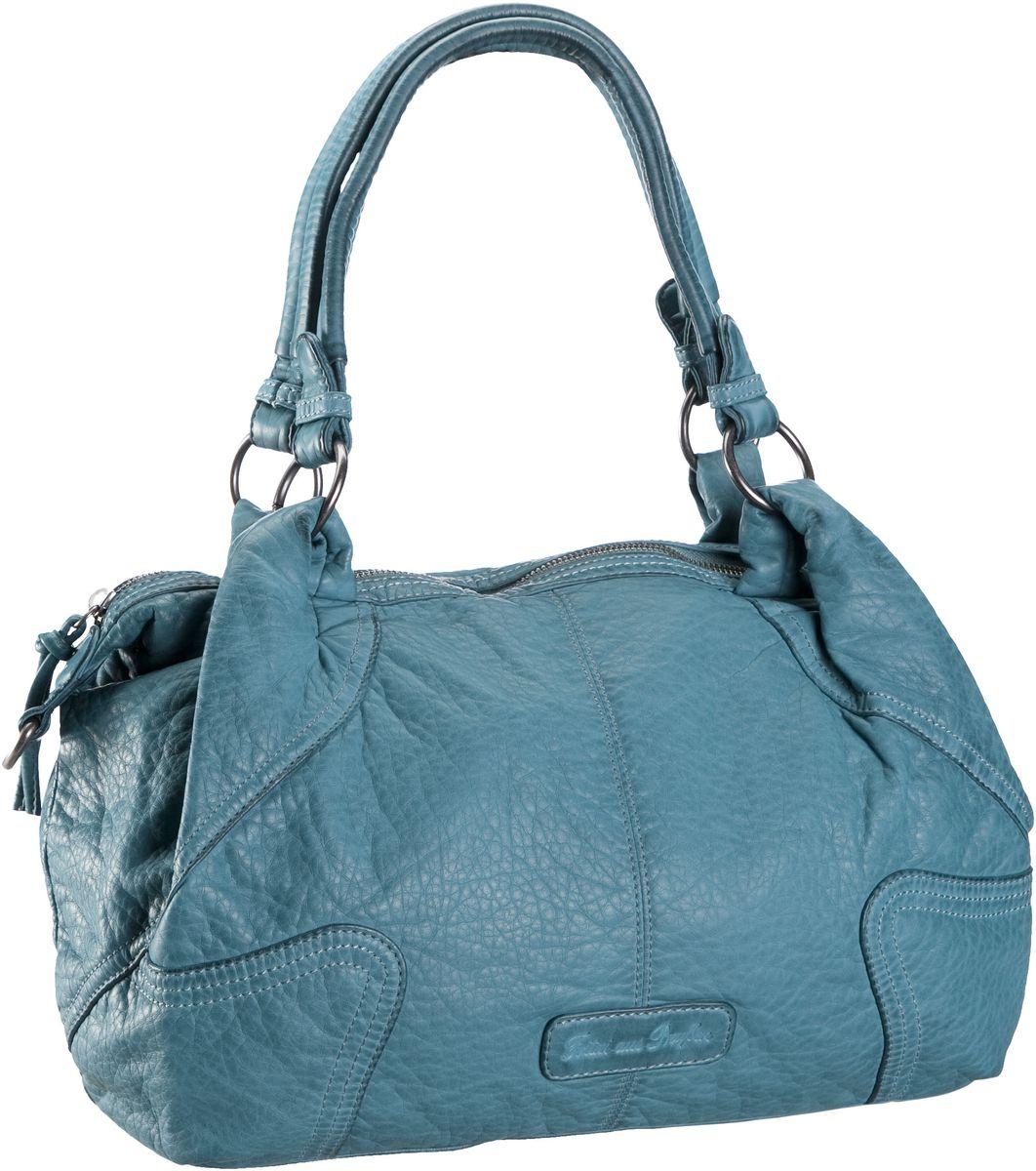 fritzi aus preu en nina washed ocean handtasche blau online. Black Bedroom Furniture Sets. Home Design Ideas