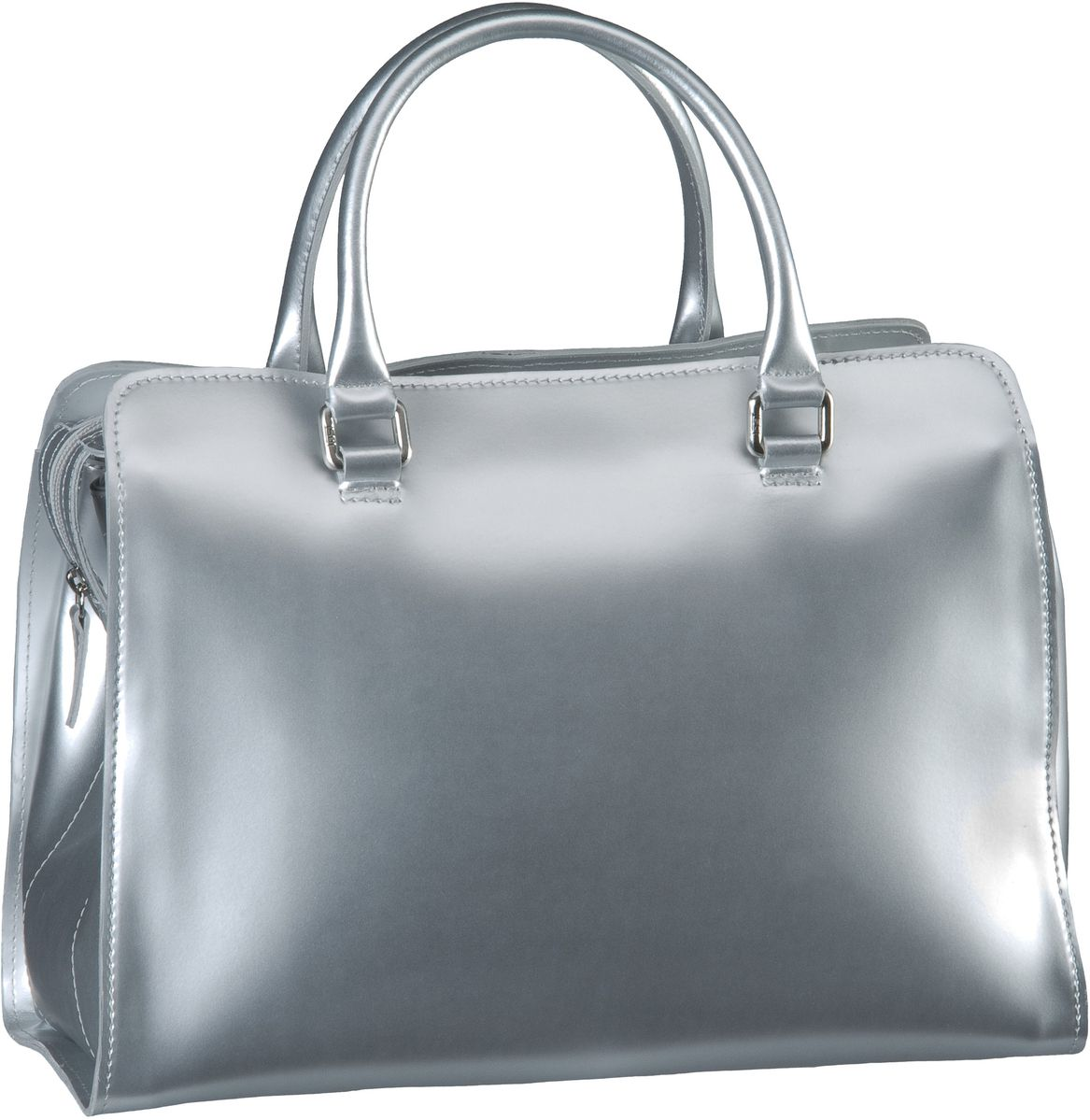 Jost Handtasche Sirius 1333 Bowling Bag Silver - Bowling Bag, Handtaschen