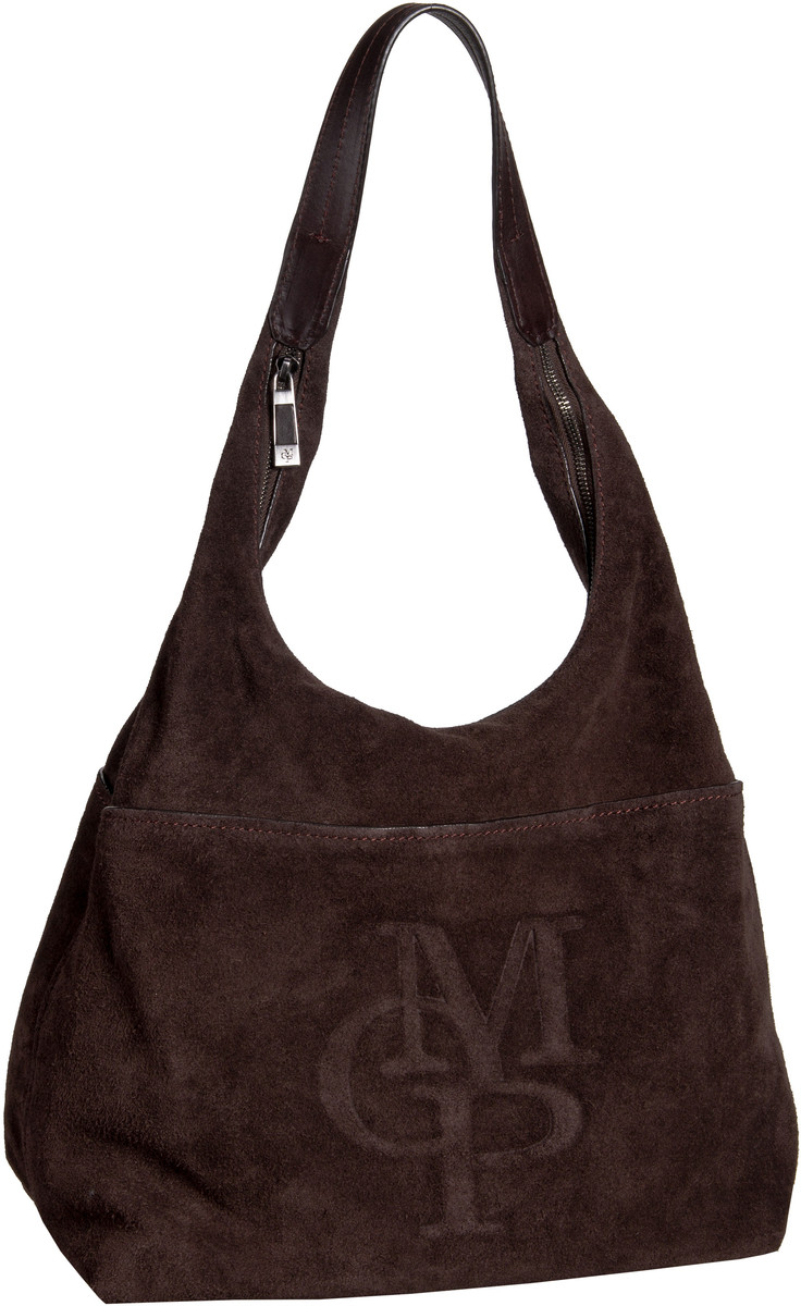 polo hobo bag l suede tabacco beuteltasche hobo bag von marc o. Black Bedroom Furniture Sets. Home Design Ideas