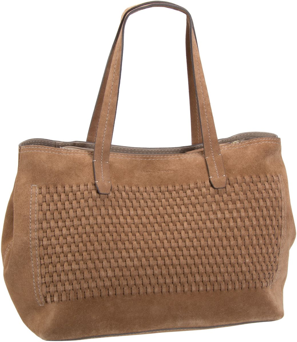 Marc O´Polo Elli Shopper M Cognac (innen: Taupe) - Shopper