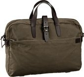 Marc O'Polo Laptop Bag M Waxed Canvas/Vacchetta  Aktentasche