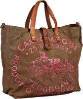 Campomaggi Sesia Canvas Bag Small  Handtasche