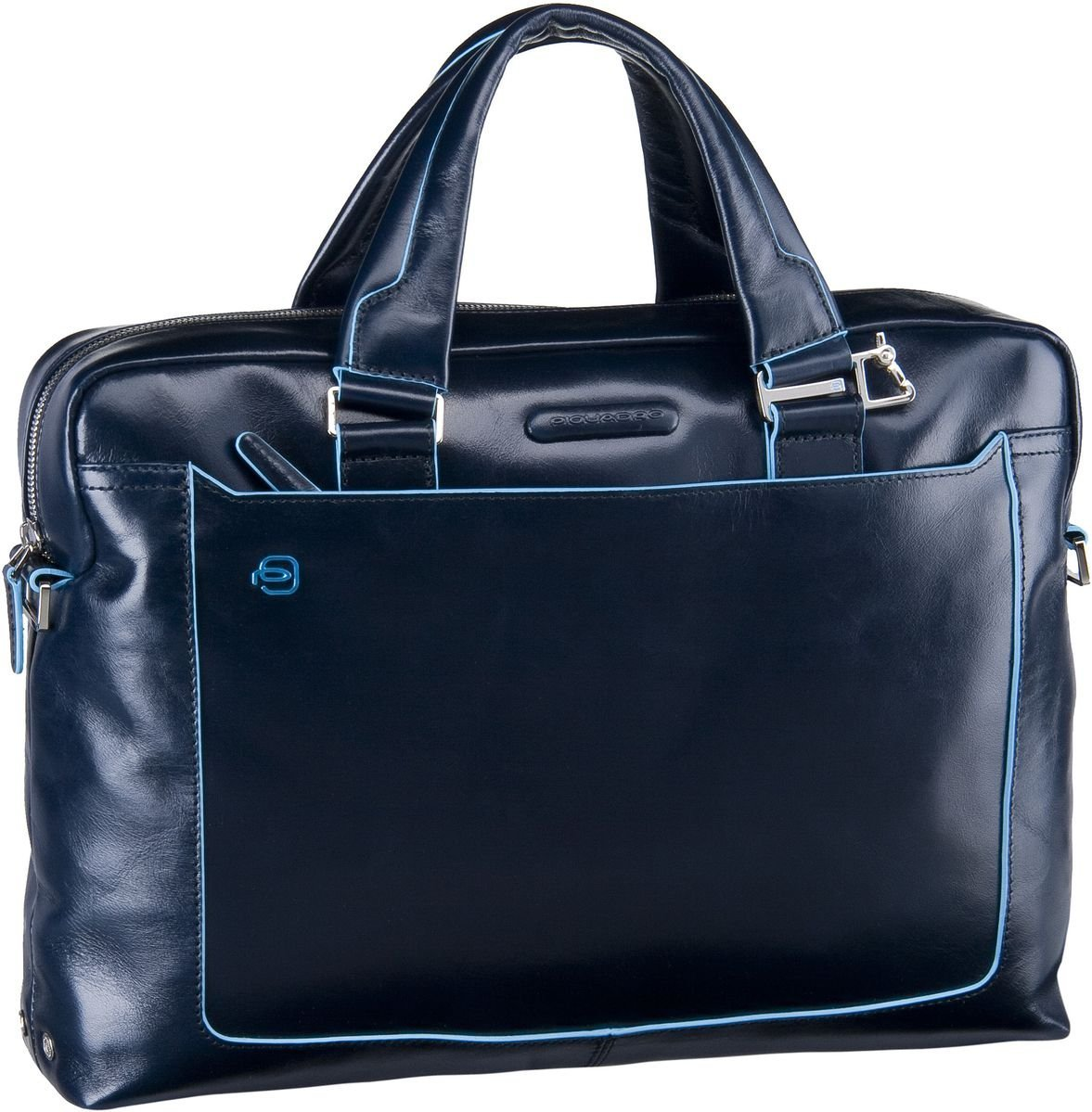 piquadro -  Aktentasche Blue Square Tote Bag Quer Blu Notte