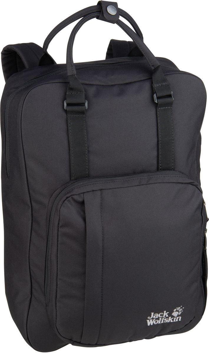 jack wolfskin rucksack tasche schwarz braun