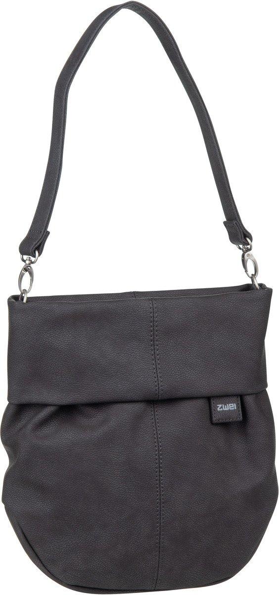 weiches Kunstleder viele Fächer Damenhandtasche Handtasche in Schwarz Weiß Rot