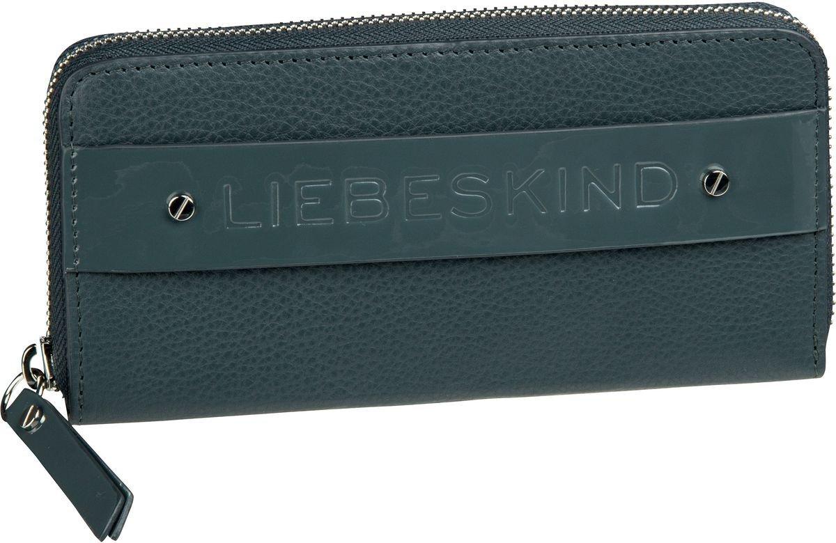 Liebeskind LeonieH8 Geldbörse Portemonnaie Damen Leder 19 cm deep blue