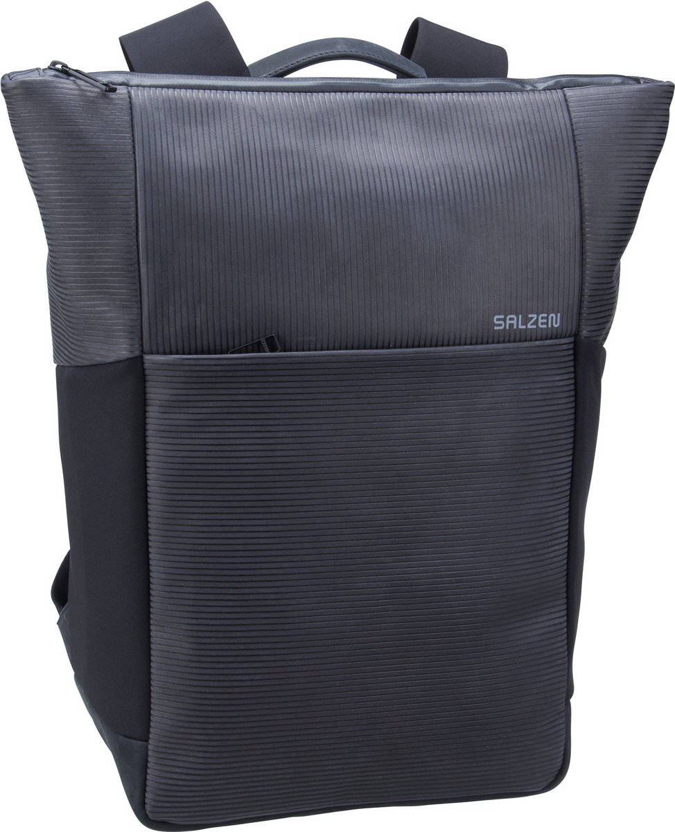 Image of Salzen Rucksack / Daypack Vertiplorer Leather Aligned Smoke (21 Liter)