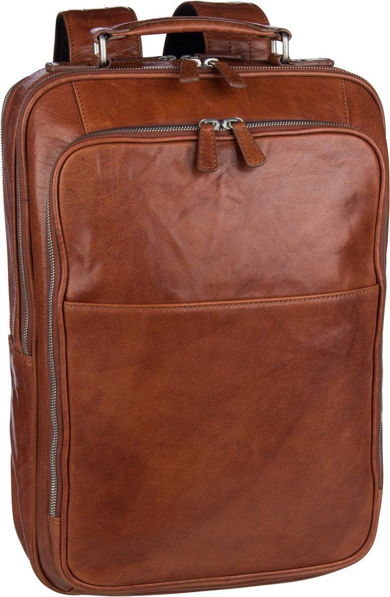 Image of Leonhard Heyden Rucksack / Daypack Austin 6655 Rucksack Cognac (18.3 Liter)