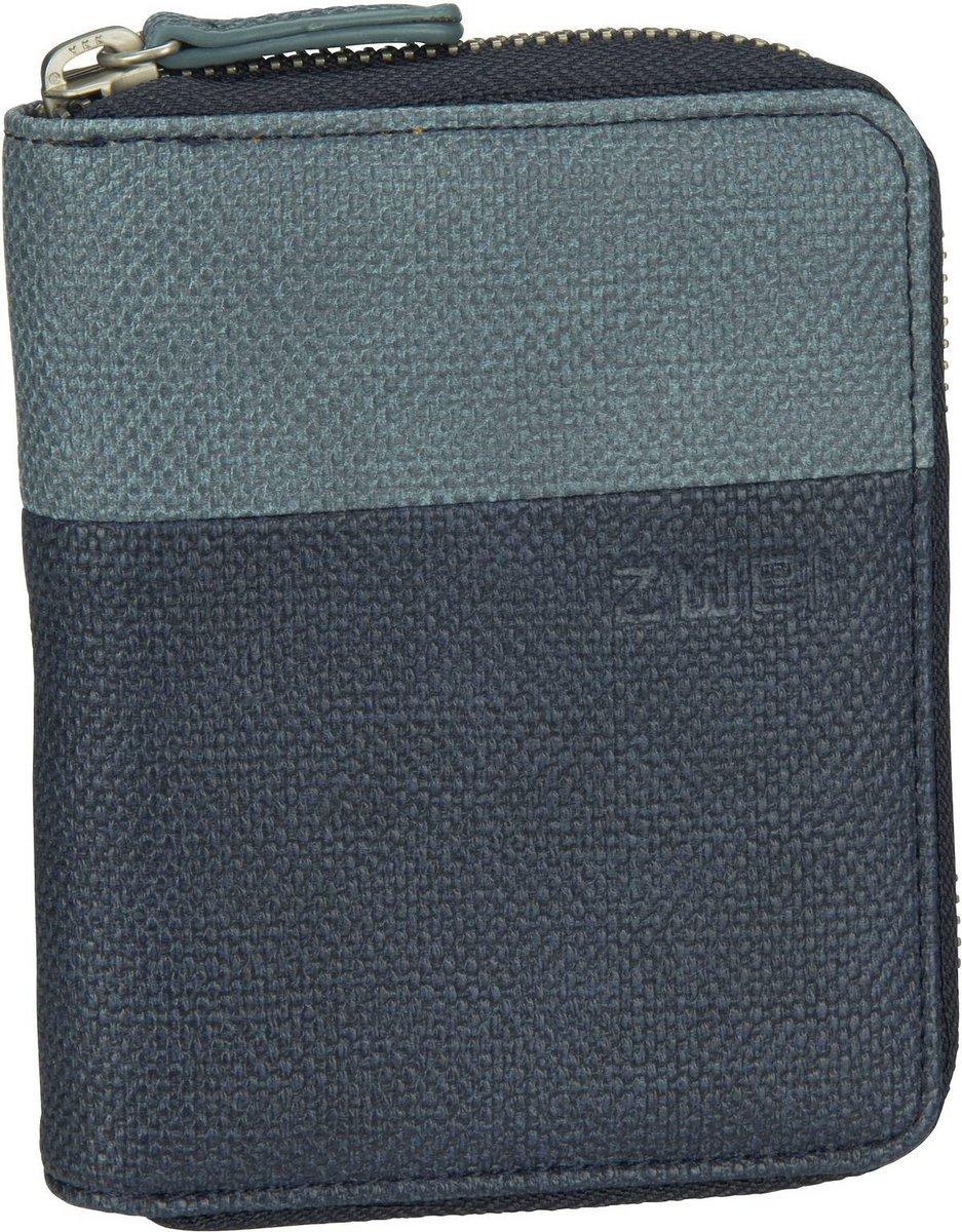 Geldboersen - zwei Geldbörse Eva EVW10 Canvas Blue  - Onlineshop Taschenkaufhaus