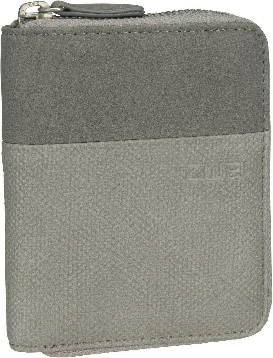 Geldboersen - zwei Geldbörse Eva EVW10 Canvas Grey  - Onlineshop Taschenkaufhaus