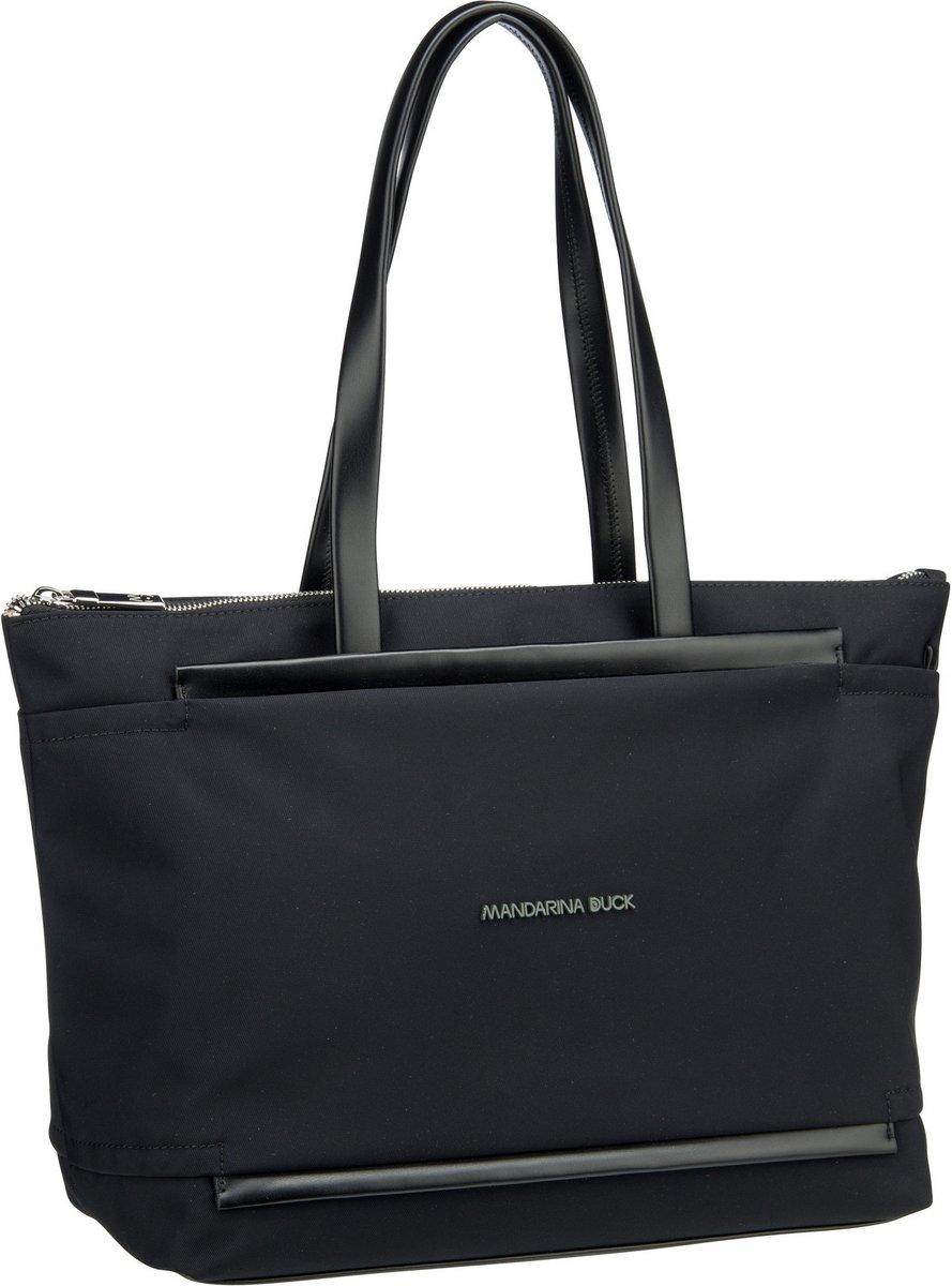 Shopper - Mandarina Duck Shopper Daphne Shopper PDT01 Black  - Onlineshop Taschenkaufhaus