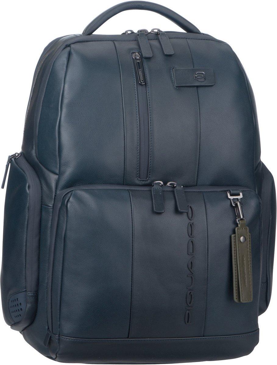 Image of Piquadro Rucksack / Daypack Urban 4532 Connequ RFID Blu (29 Liter)