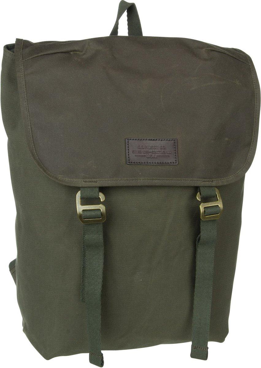 Image of Filson Rucksack / Daypack Rugged Twill Ranger Backpack Ottergreen (26.5 Liter)