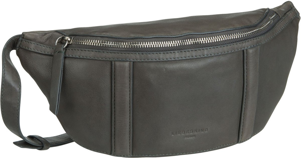 Kleinwaren - Liebeskind Berlin Gürteltasche Oak Belt Bag Gun Grey  - Onlineshop Taschenkaufhaus