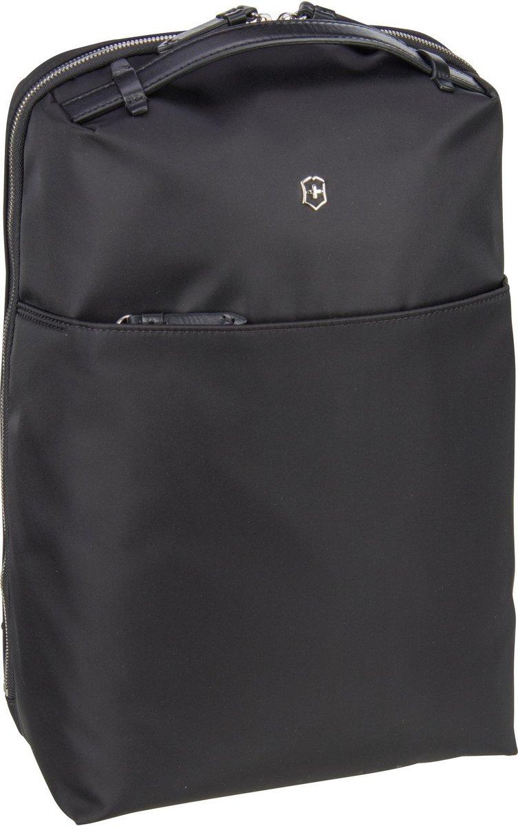 Rucksaecke - Victorinox Laptoprucksack Victoria 2.0 Compact Business Backpack Black (13 Liter)  - Onlineshop Taschenkaufhaus