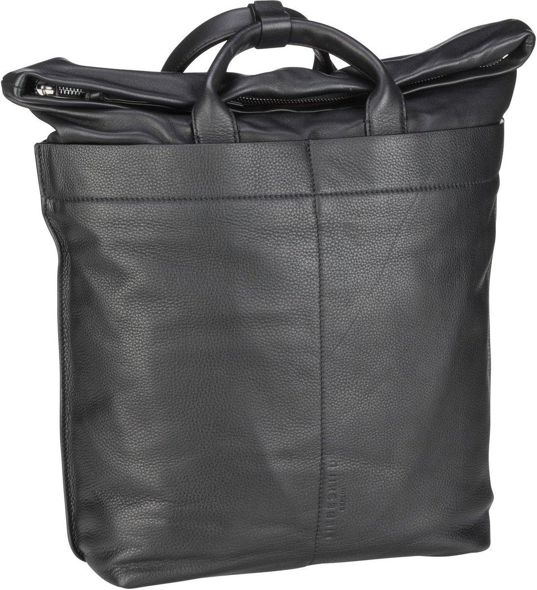 Image of Liebeskind Berlin Rucksack / Daypack Side by Side Backpack L Black (15.5 Liter)