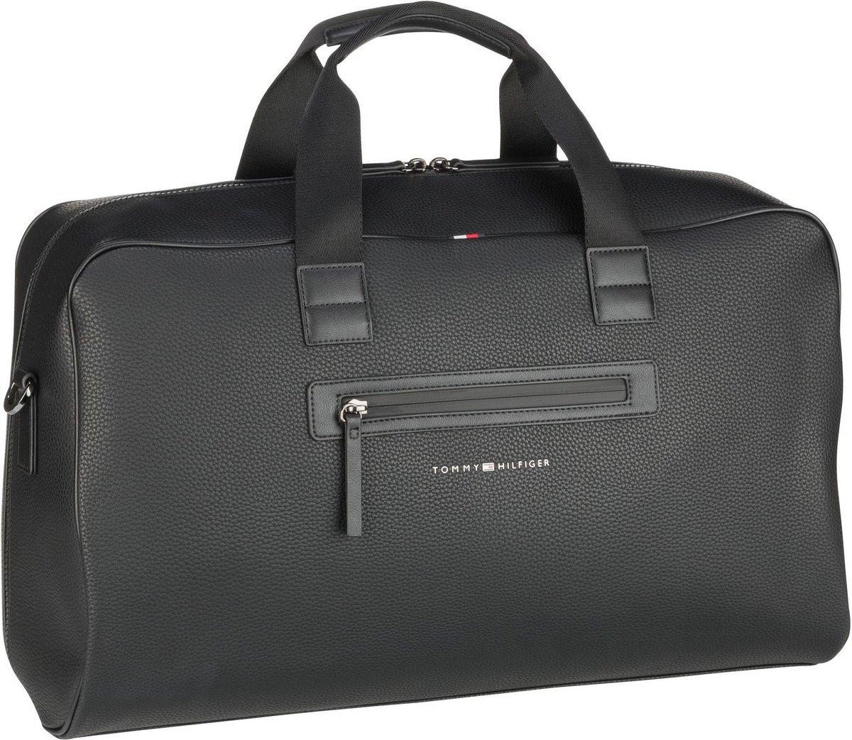 tommy hilfiger -  Reisetasche Essential PU Weekender SP21 Black (38.4 Liter)