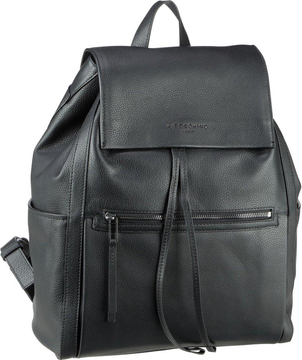 Rucksaecke - Liebeskind Berlin Rucksack Daypack Georgia Backpack L Black (15.4 Liter)  - Onlineshop Taschenkaufhaus
