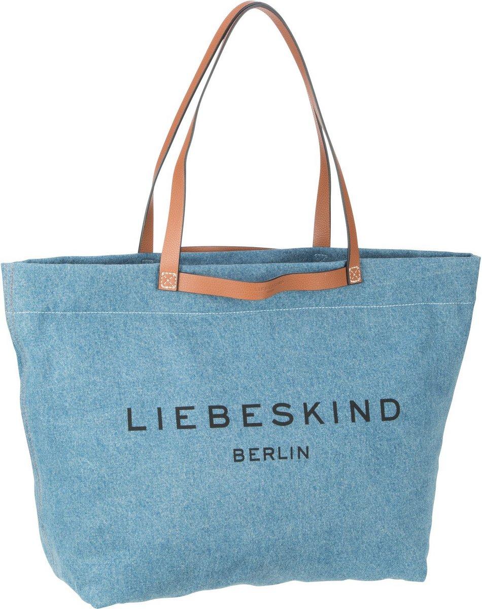 Liebeskind Berlin Shopper Gray Aurora Zip Shopper Denim Blue Denim (40.1 Liter)