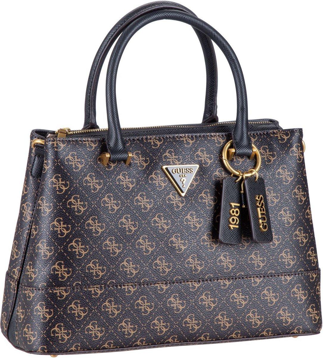 guess -  Handtasche Cordelia Logo Luxury Satchel Brown Logo (9.3 Liter)