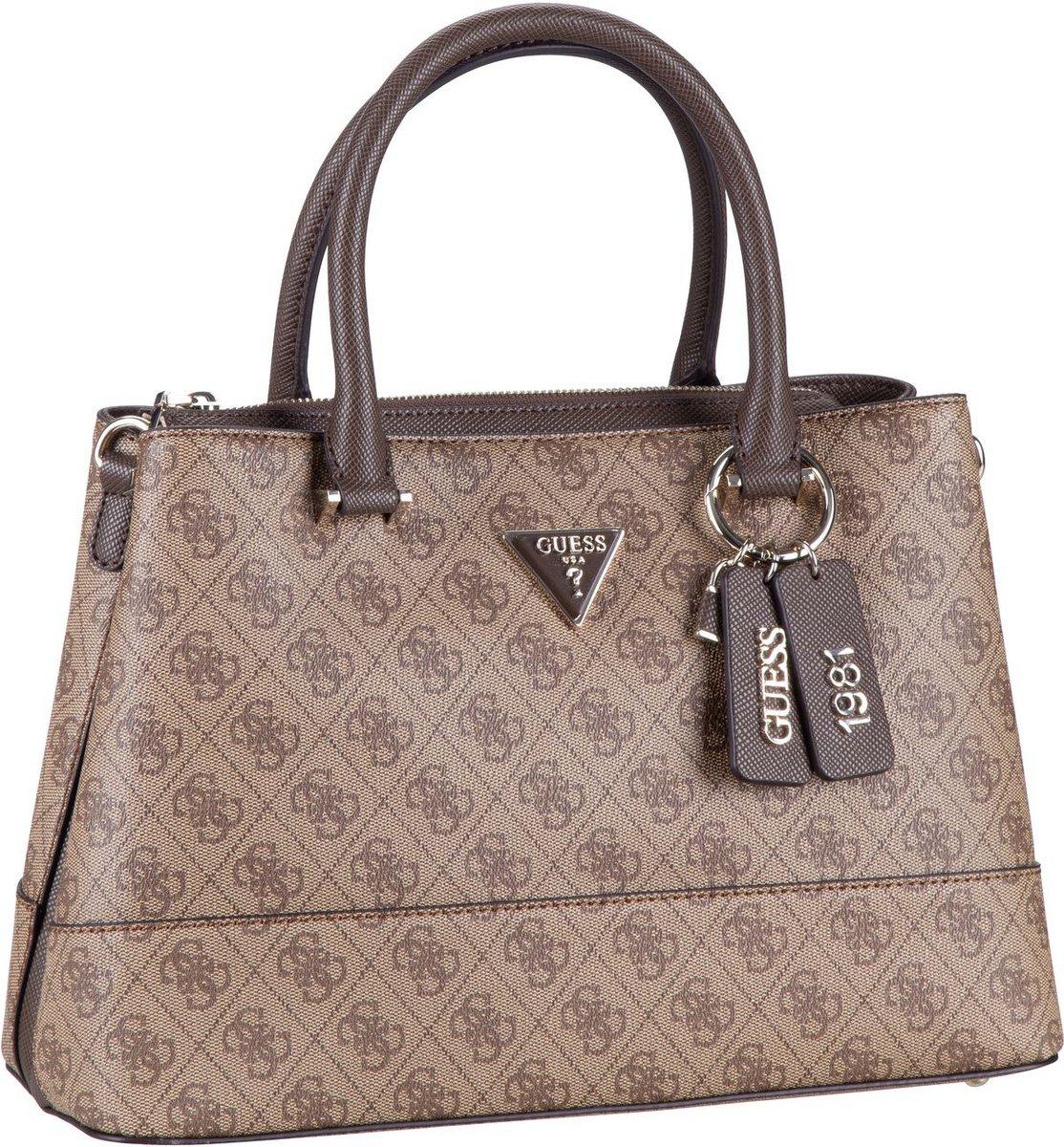 guess -  Handtasche Cordelia Logo Luxury Satchel Latte/Brown (9.3 Liter)