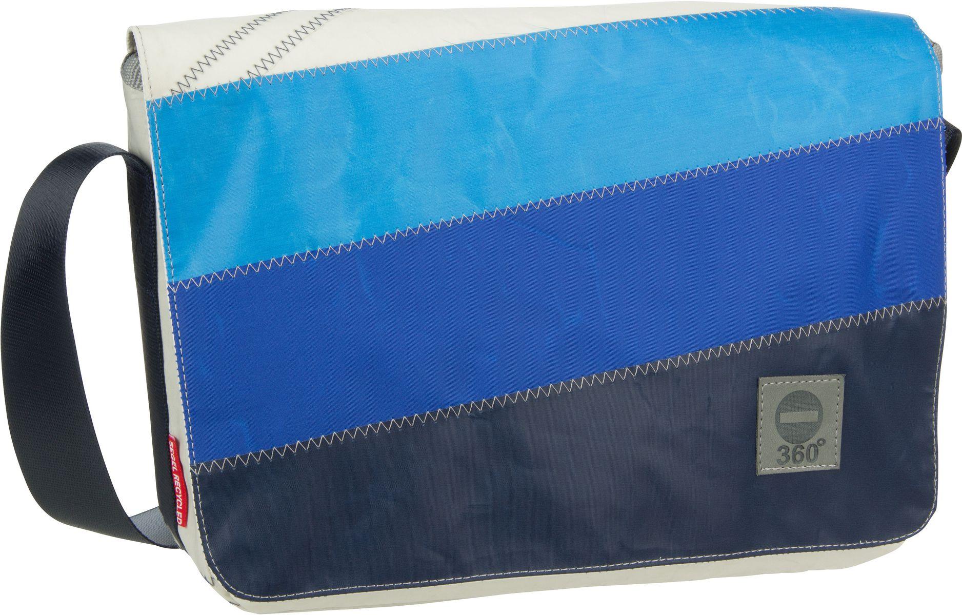 Umhängetasche Barkasse Mini Blaue Streifen (15 Liter)