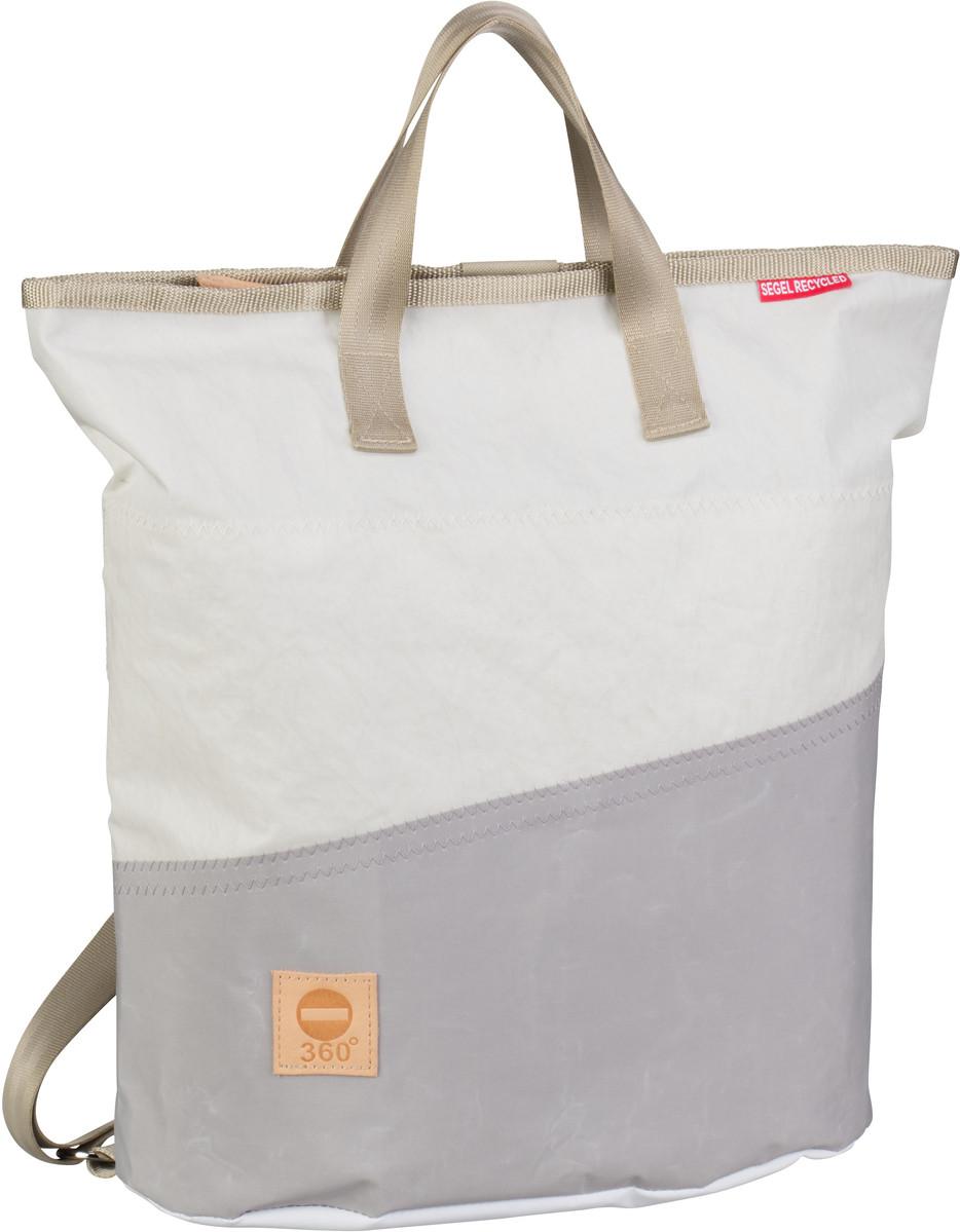 Rucksack / Daypack Ketsch Mini Weiß/Grau (14 Liter)