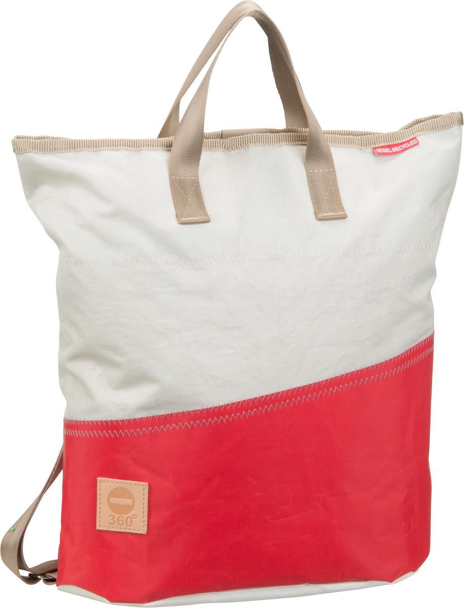 Rucksack / Daypack Ketsch Mini Weiß/Rot (14 Liter)