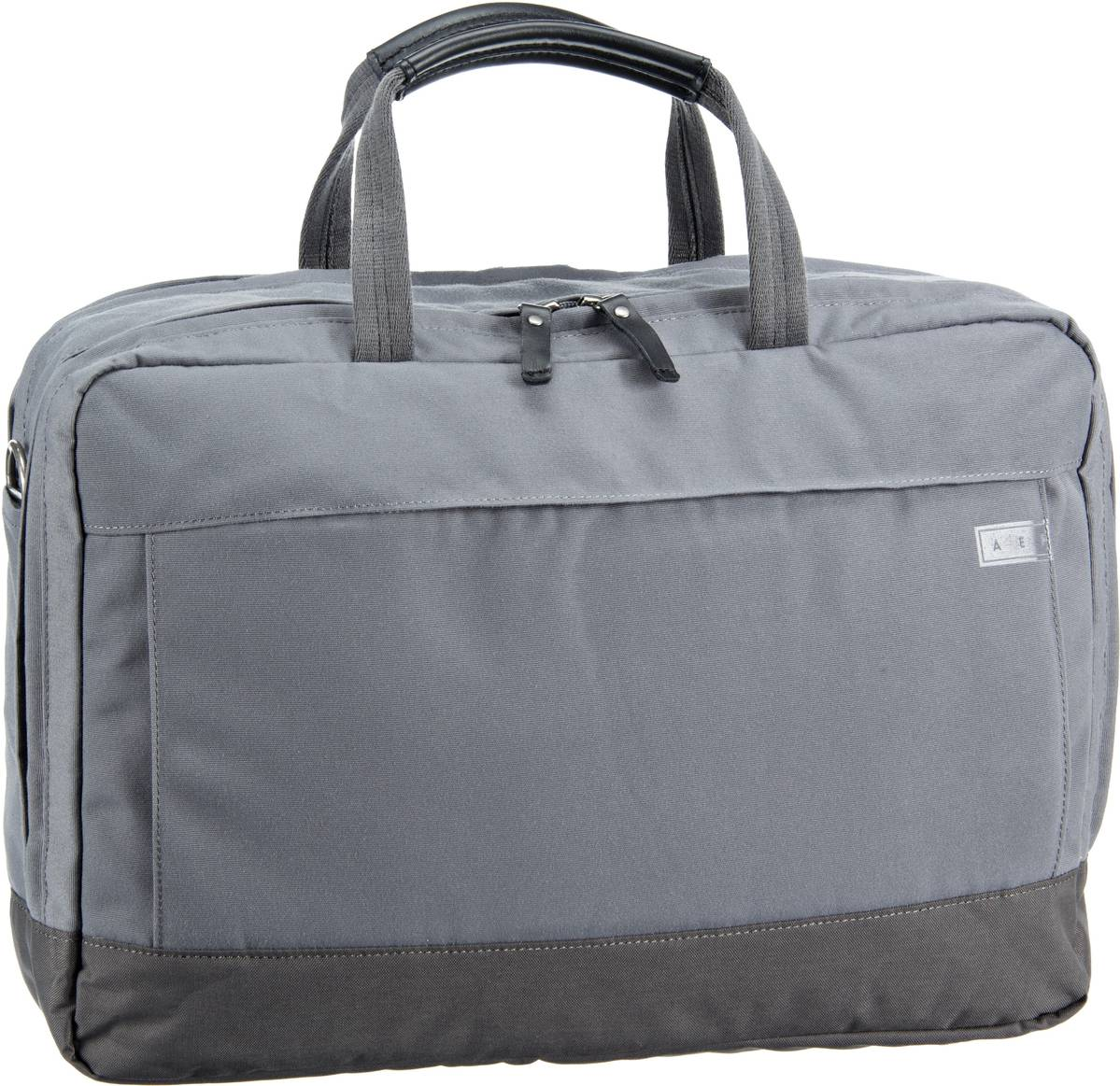 A E P Delta Large Essential Work Bag Graphite Grey - Aktentasche