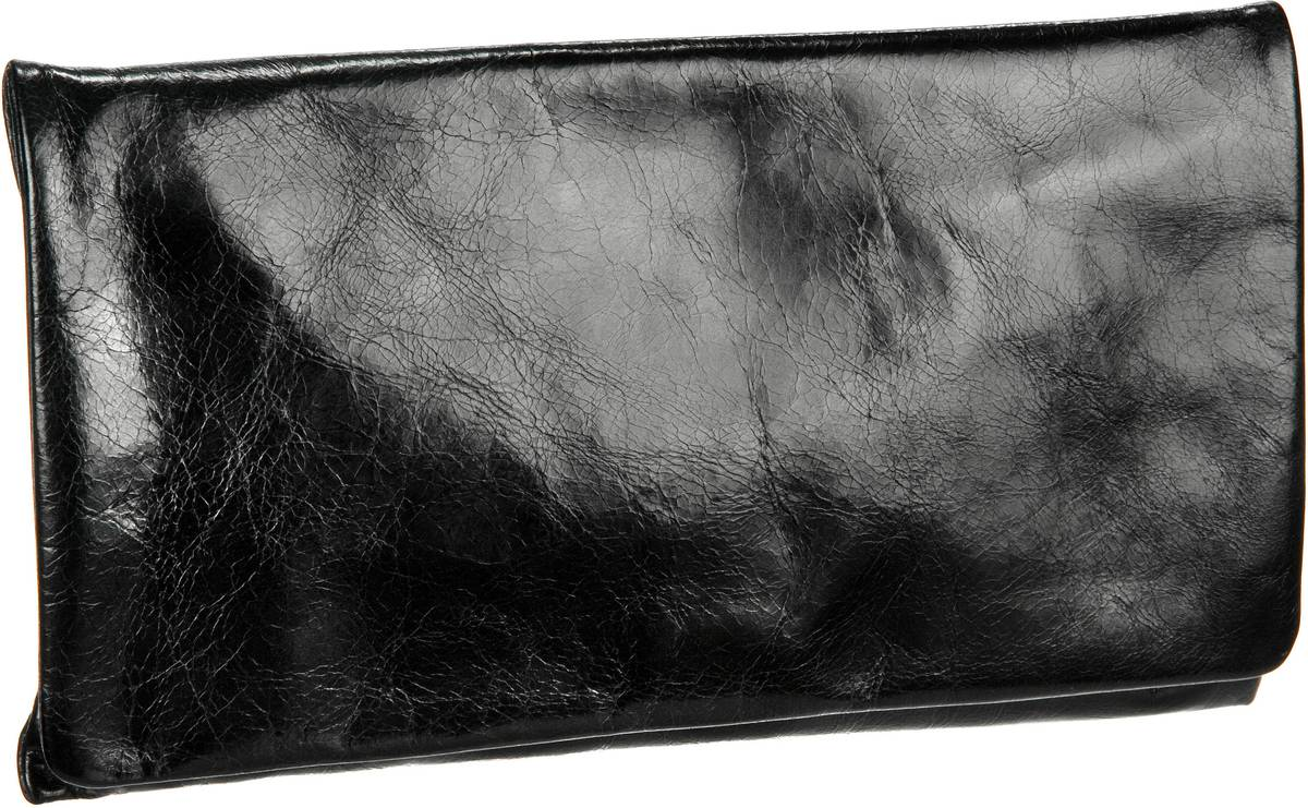 Handtasche Athene Clutch Black (innen: Schwarz)