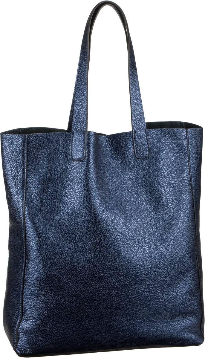 Handtasche Calf Shimmer 26941 Navy