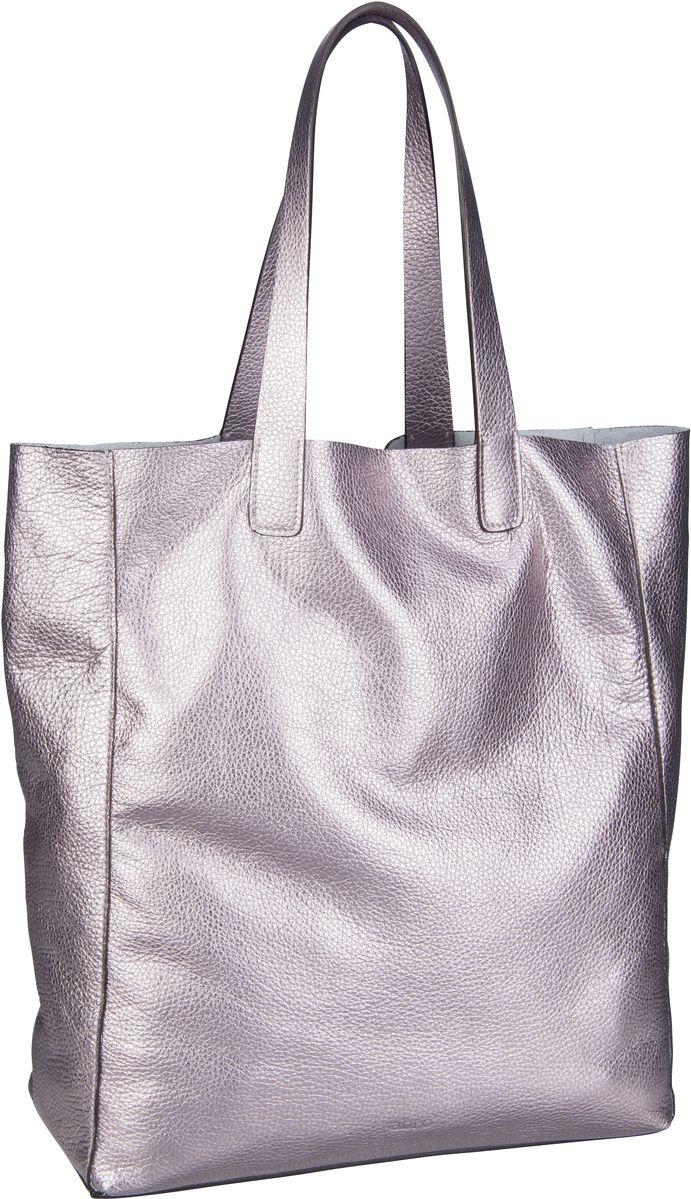 Handtasche Calf Shimmer 26941 Taupe