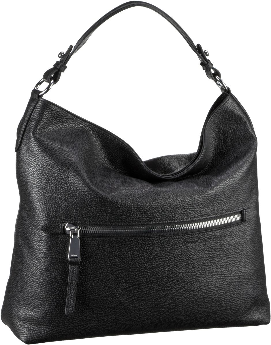Handtasche Calf Adria 27904 Black/Nickel Abro a98Dvnu