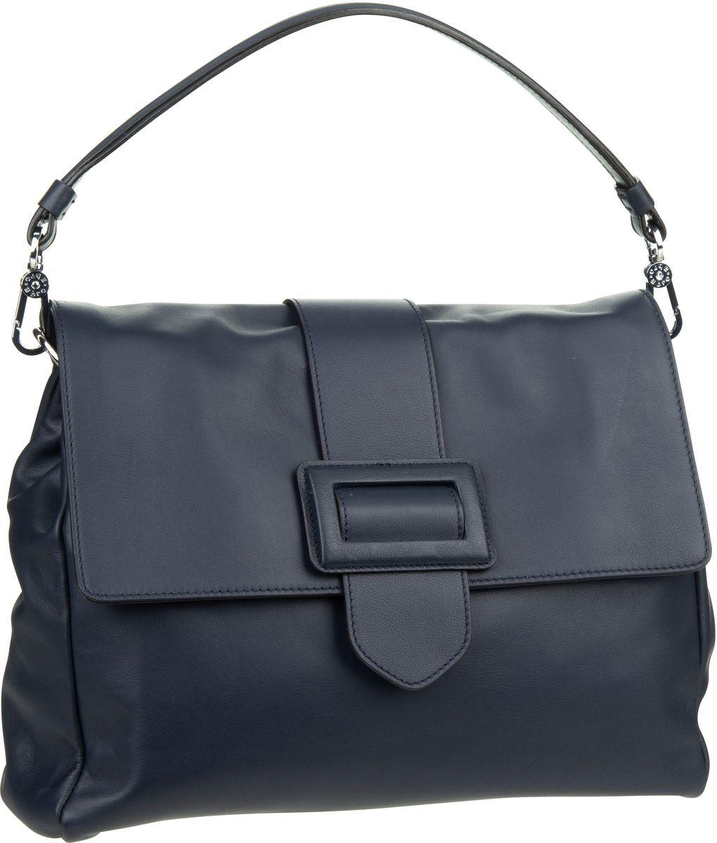 Handtasche Nappa Lotus 28280 Navy