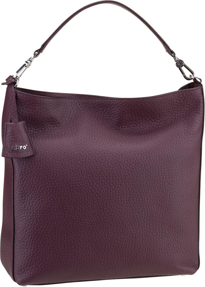 Handtasche Vitello Cervo 28194 Burgundy