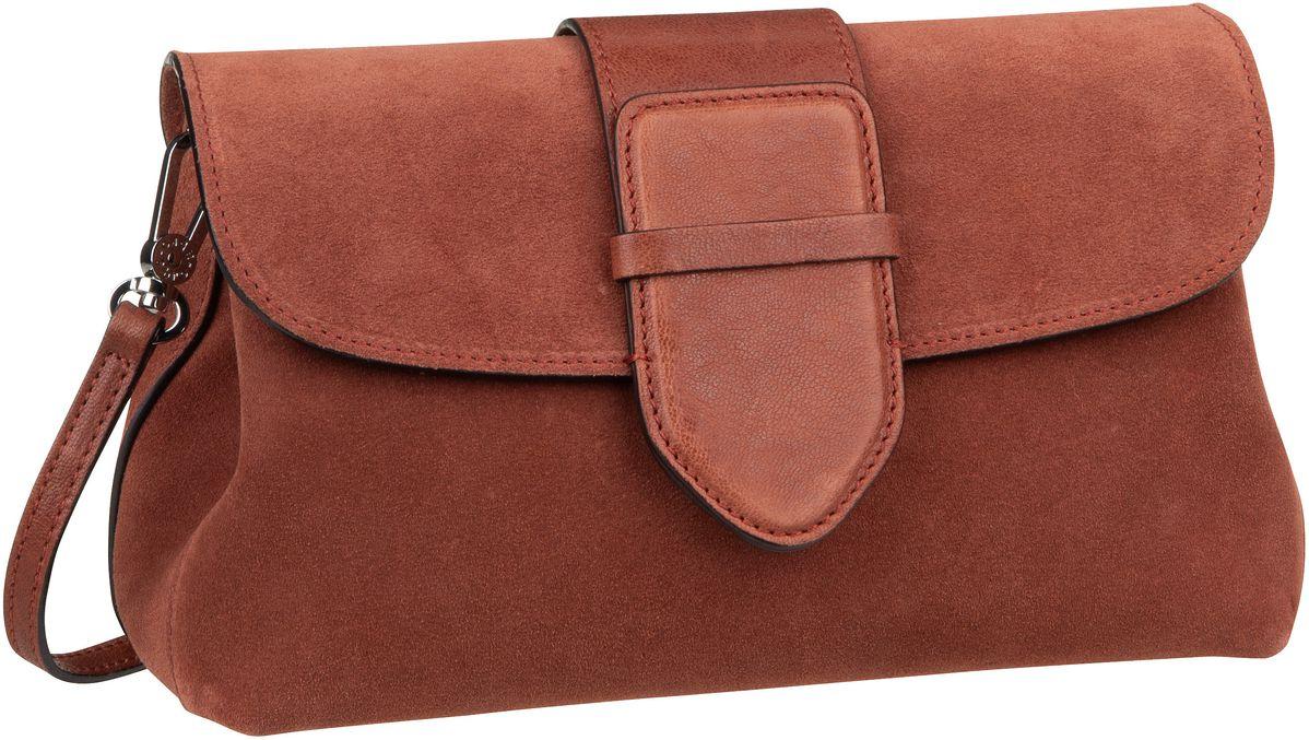 Handtasche Suede 28177 Rust