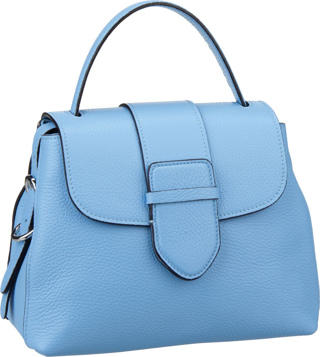 Handtasche Calf Adria 28178 Light Blue