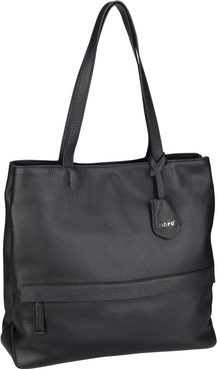 abro Shopper Calf Adria 28367 Black/Nickel