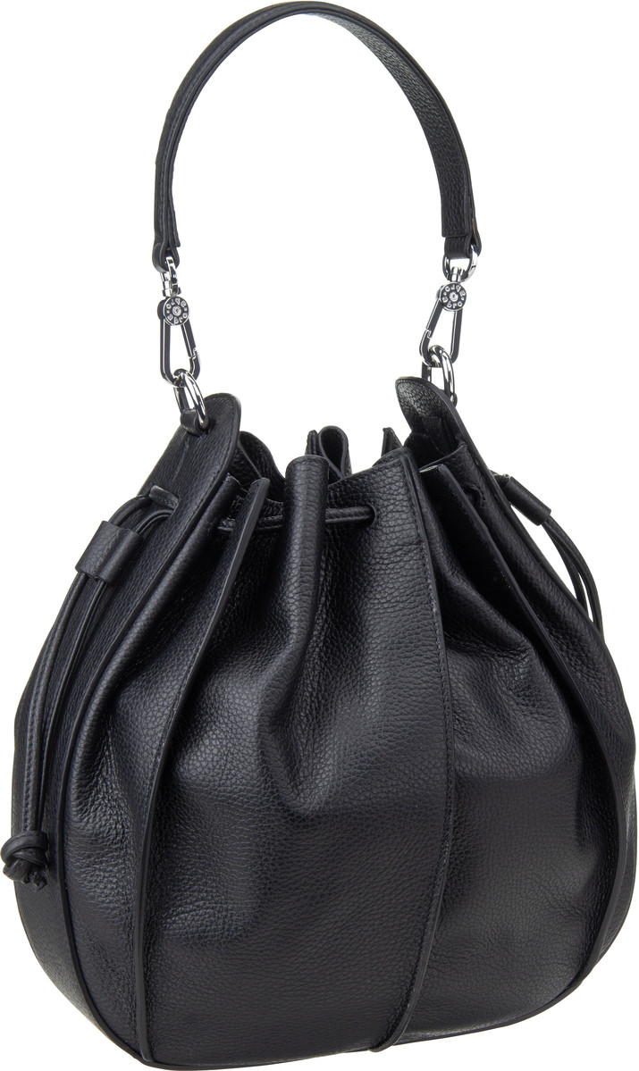 Handtasche Calf Adria 28385 Black/Nickel