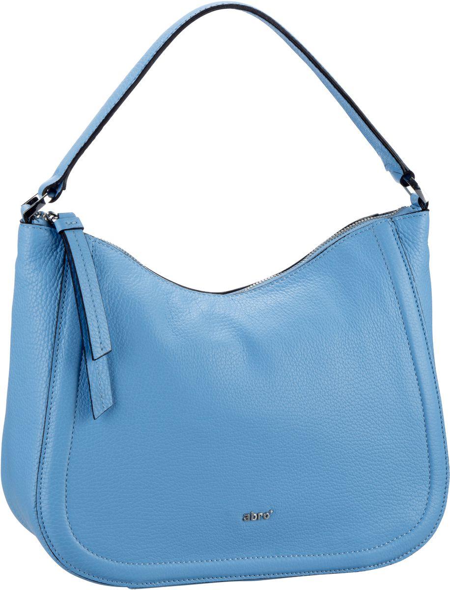Handtasche Calf Adria 28353 Light Blue