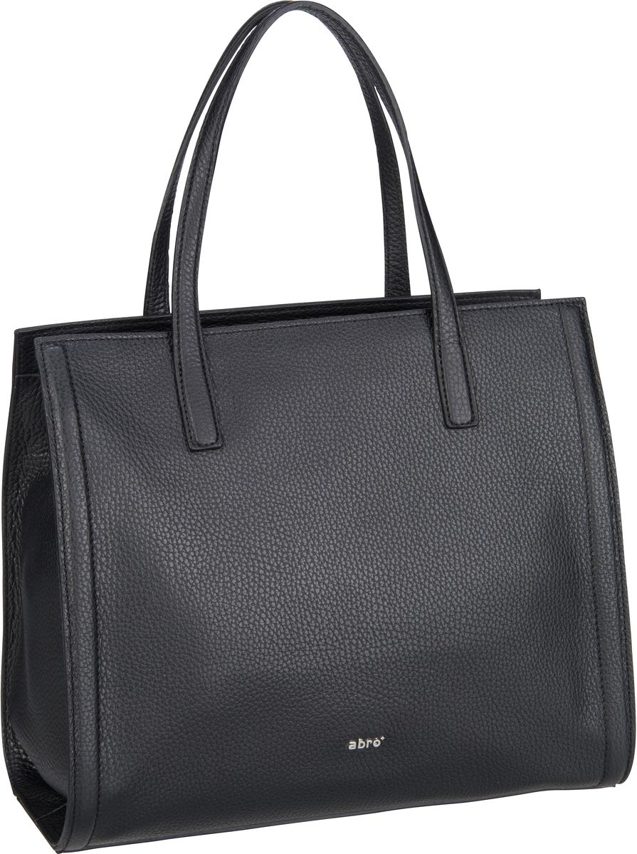 Handtasche Calf Adria 28355 Black/Nickel