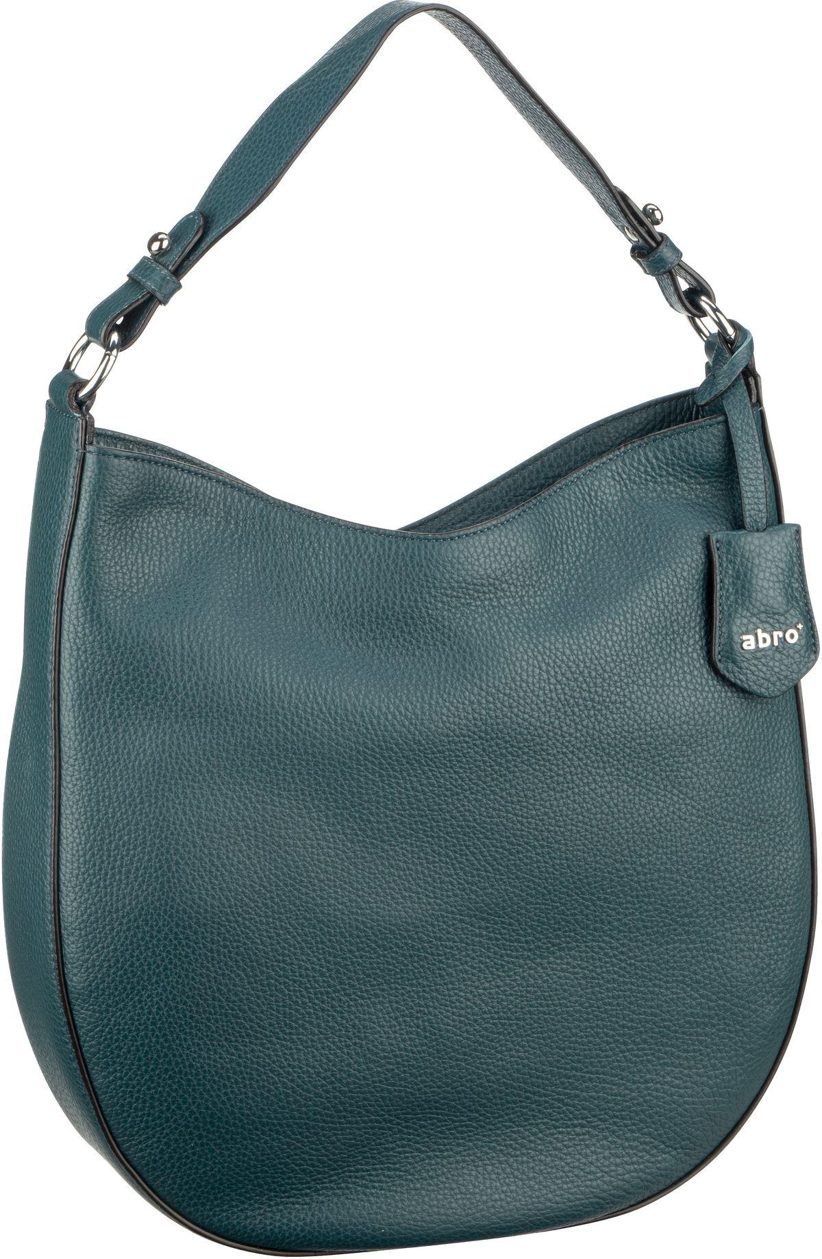 Handtasche Calf Adria 28486 Petrol