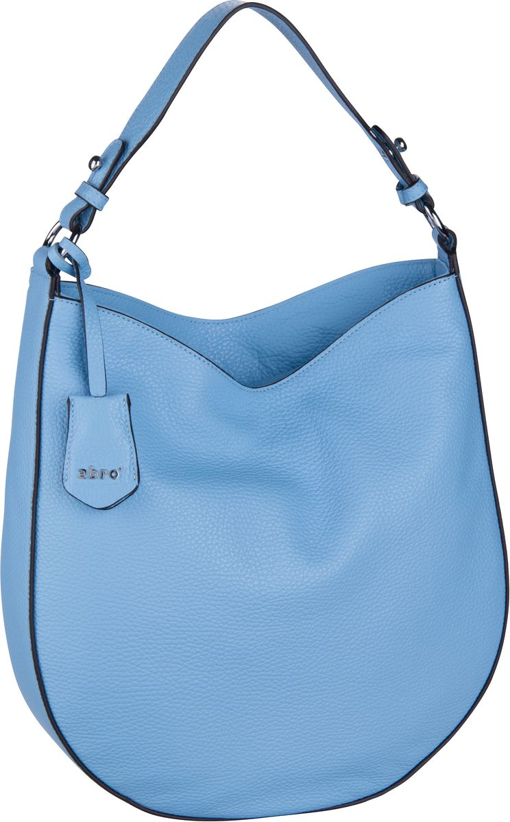 Handtasche Calf Adria 28486 Light Blue