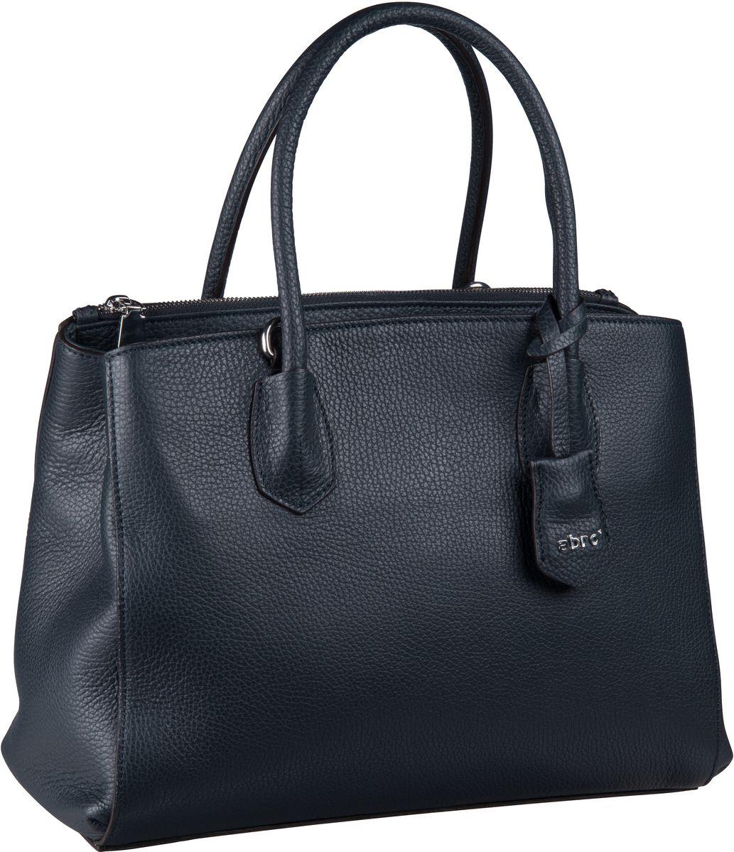 Handtasche Calf Adria 28488 Navy