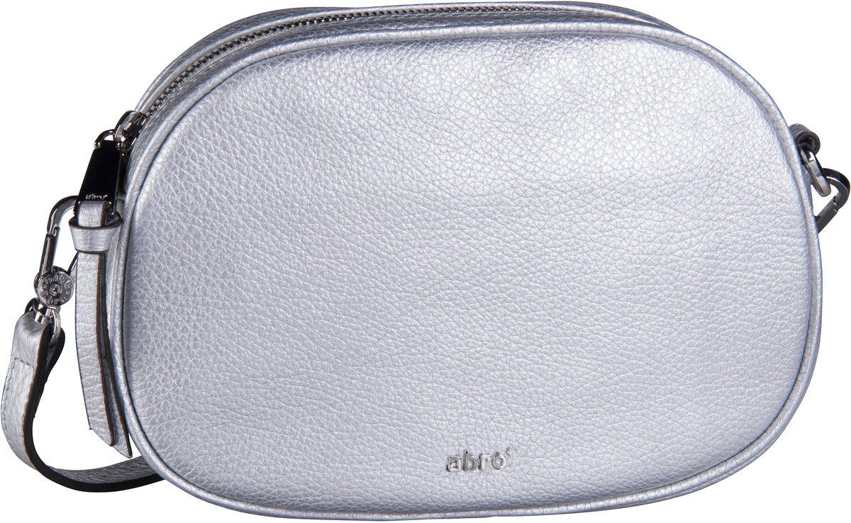 Umhängetasche Calf Shimmer 28516 Silver