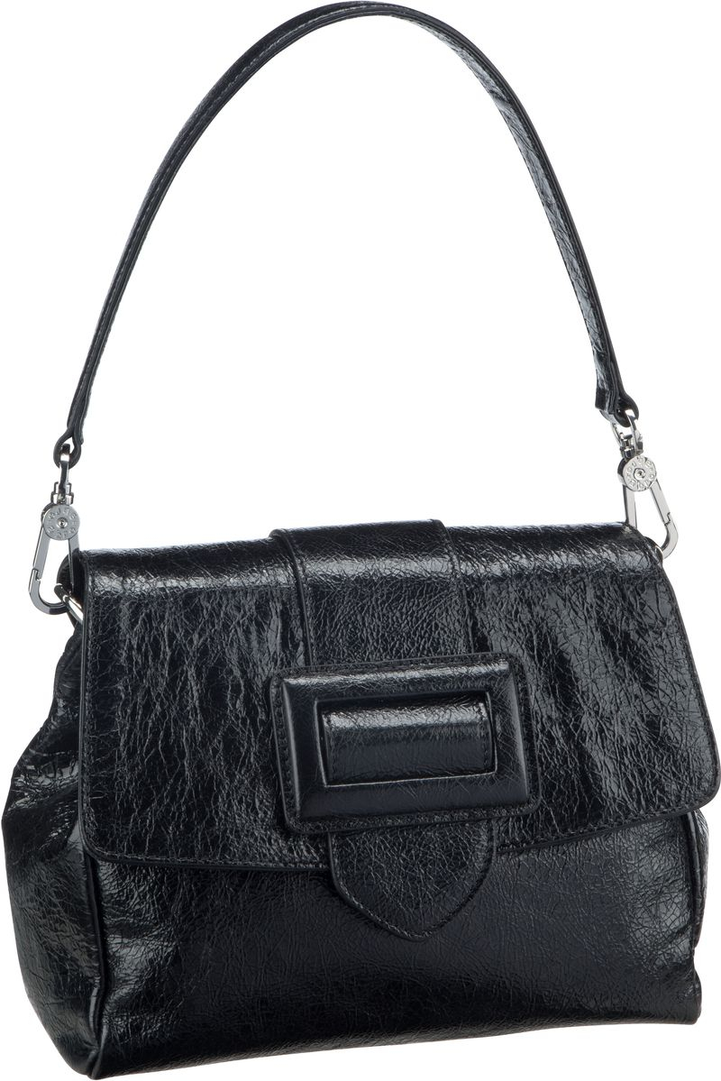 Handtasche Calf Figo 28423 Black/Nickel