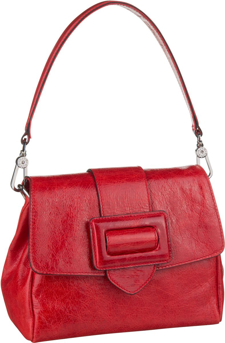Handtasche Calf Figo 28423 Red