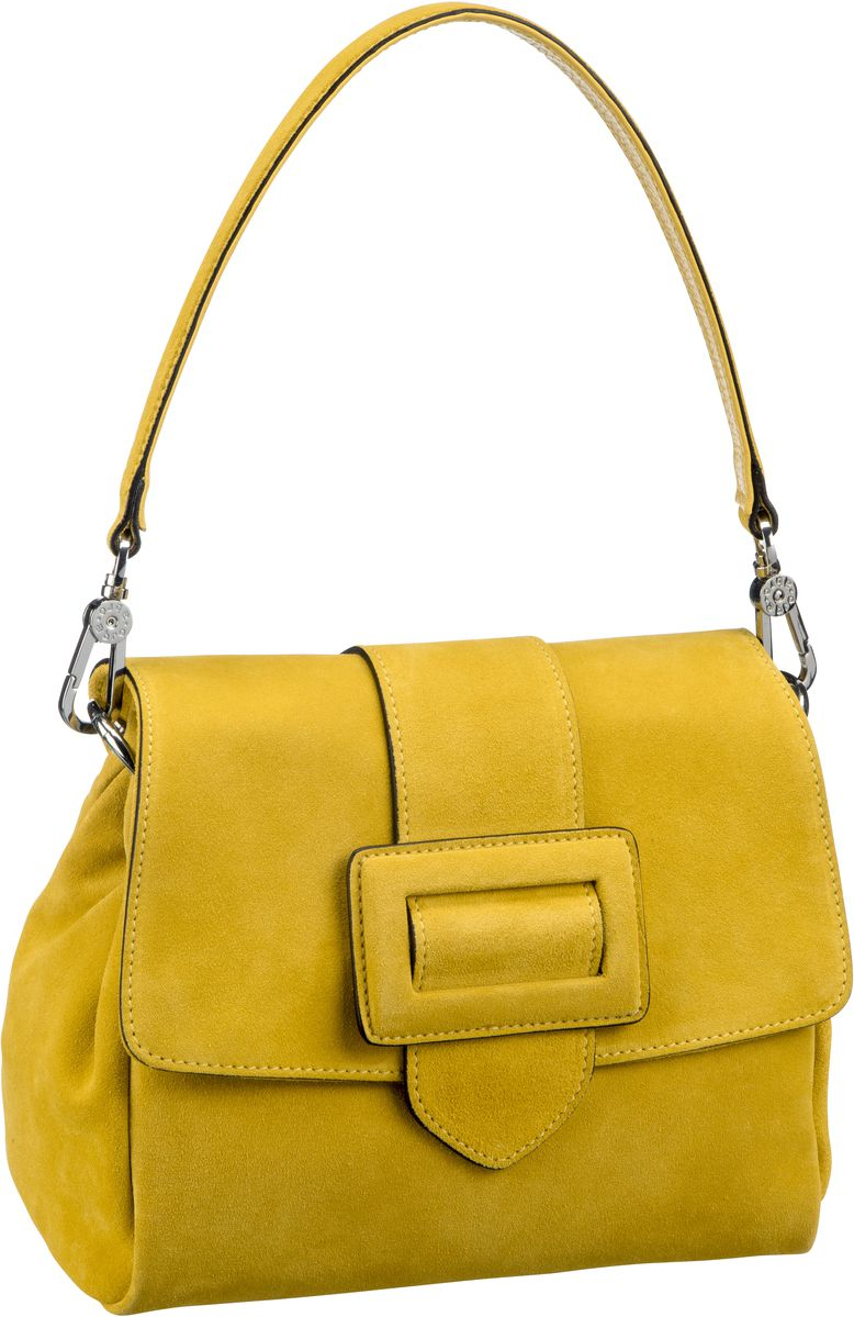 Handtasche Suede 28423 Yellow